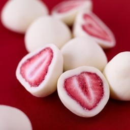 Greek Yogurt Strawberries